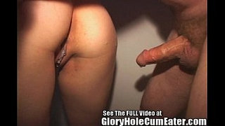 Hot-Brunette-Fucked-in-a-Glory-Hole!