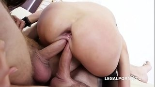 Double-Addicted-Angie-Moon-&-Dominica-Phoenix-5on2-with-anal-Fisting-Orgasms!