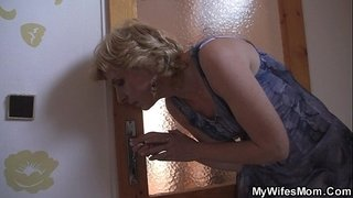 Blonde-mother-in-law-taboo-sex