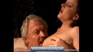 Young-girl-takes-old-man-dick