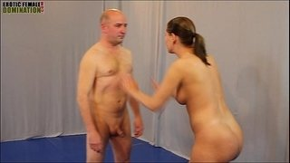 Mixed-wrestling-Sex-Figh