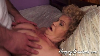 Fat-Horny-granny-And-Her-Young-Stud