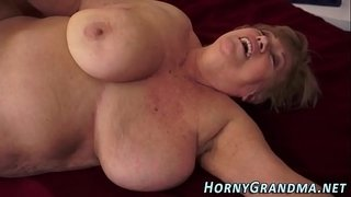 Tubby-granny-jizz-mouthed