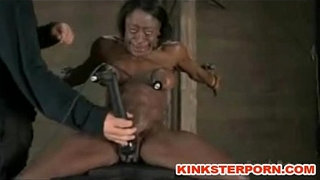 Pervert-BDSM-Games-–-Slave-is-Bounded,-Slapped,-Dildoed-in-a-Brutal-Humiliation