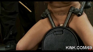 Hot-pretty-girl-cums-and-cries-in-threesome-BDSM-sex