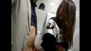 Fucking-slutty-wife-on-a-public-toilet