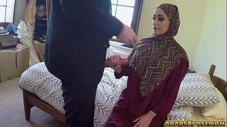 Beautiful-Arab-slut-fucks-for-some-money