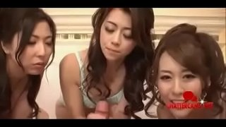 Three-Hot-Japanese-Babes-Share-Some-Cock