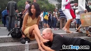 Public-Foot-Worship-In-New-York-City