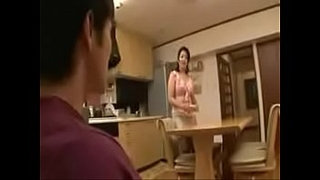 Japanese-stepmom-bathing-with-stepson