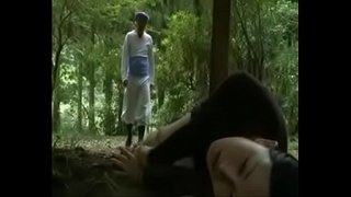 Japanese-Love-Story-||School-Girl-is-seduced-in-public-toilet-and-fucked-outside