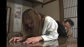 Japanese-schoolgirl-bizarre-spanking-and-threesome-Subtitled