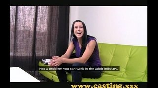 Casting---Crazy-chick-gets-creampie