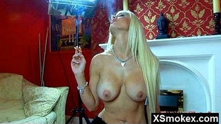Mega-Titty-Fetish-Smoking-Hoe-Naked-Solo