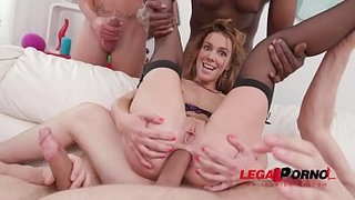 Alexis-Crystal-amazing-DAP-&-DP-with-four-cocks