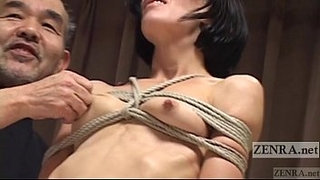 CMNF-Subtitled-Japanese-nose-BDSM-with-Elise-Graves