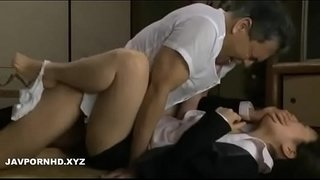 Father-in-law-force-fucking-Japanese-daughter-in-law