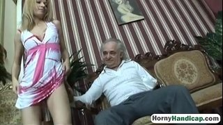 Cute-blonde-takes-care-of-an-older-handicapped-manfilth-hi-3