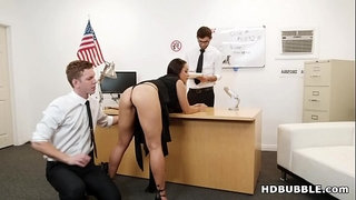Russian-slut-DPed-by-airport-security-#-Crystal-Rush