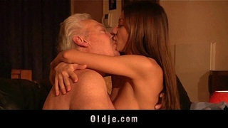 Gorgeous-young-girl-ass-fuck-and-swallow-old-man-cum