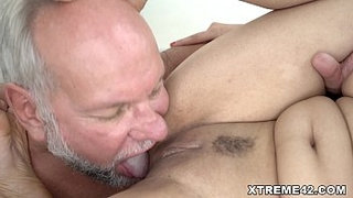 Fresh-pussy-filled-with-Grandpa-dick