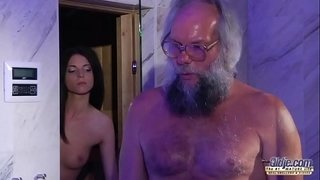 Teen-Sensual-Cock-Massage-and-Pussy-fuck-with-big-dick-grandpa-super-hot