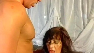 Busty-amateur-mom-foursome-with-cum-on-tits