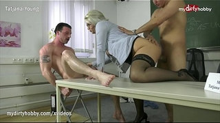 MyDirtyHobby---Threesome-with-college-teacher-to-relieve-exam-stress